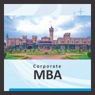 Curriculum Corporate MBA - Gems B-School