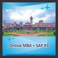 Online MBA + SAP R3 - Gems B-School