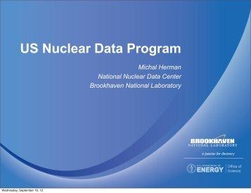 US Nuclear Data Program