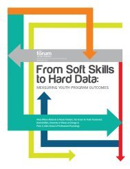 From Soft Skills to Hard Data - The Forum for Youth Investment