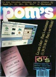 Magazine Pom's : la collection
