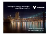 Investor Day 2010 - Vallourec