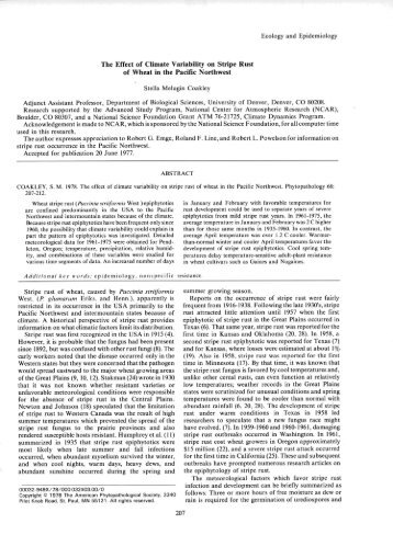 view article - American Phytopathological Society