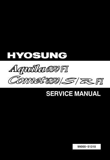 SERVICE MANUAL - Hyosung