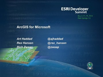 ArcGIS for Microsoft