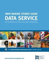 DATA SERVICE - IMPA Marine Stores Guide