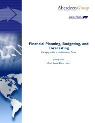 Financial Planning, Budgeting, and Forecasting: Managing in ...