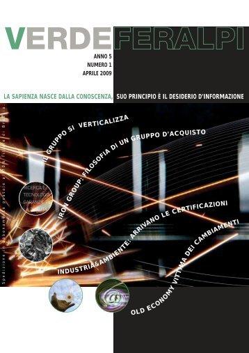 Numero 1 / Anno 5 - Aprile 2009 - Feralpi