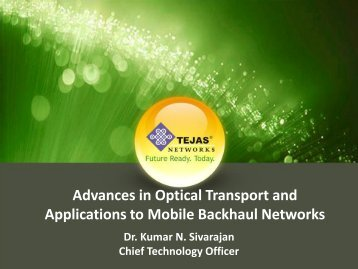 Advances in Packet Optical Transport