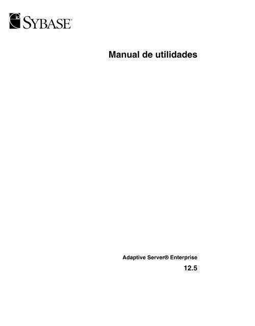 Manual pdf sybase