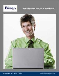 Mobile Data Service Portfolio - The Besen Group