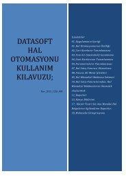datasoft hal otomasyonu kullanım kılavuzu