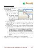 datasoft hal otomasyonu kullanım kılavuzu - Page 5