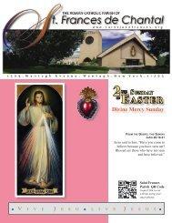 April 15, 2012 - Saint Jane Frances