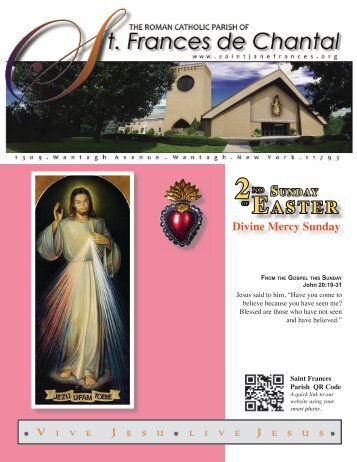 April 15, 2012 - Saint Jane Frances
