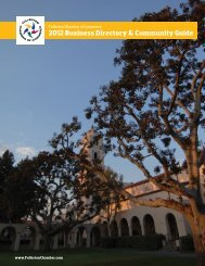 2012 Business Directory & Community Guide - Fullerton Chamber of ...