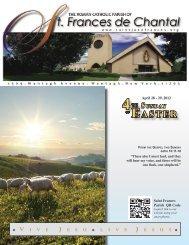 April 29, 2012 - Saint Jane Frances