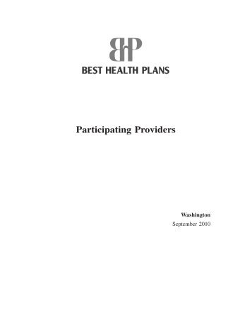 Participating Providers - Besthealthplans.com
