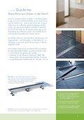 Bodengleiche Duschsysteme - Page 5