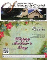 May 13, 2012 - Saint Jane Frances