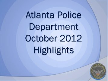SPO Gail Thomas - Atlanta Police Department