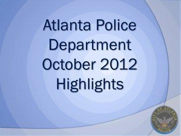 SPO Gail Thomas - Atlanta Police Department