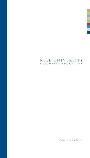 in the Emerging Leaders Program - Jesse H. Jones Graduate ...