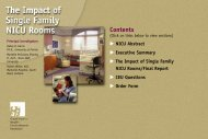 Contents - The Center for Health Design