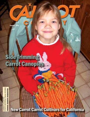 Side Trimming Carrot Canopies - Columbia Publishing & Design