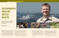 Transforming military mental health - Dr. Justin D'Arienzo