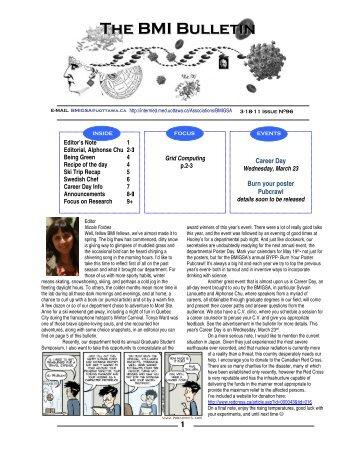 THE BMI Bulletin - BMIGSA