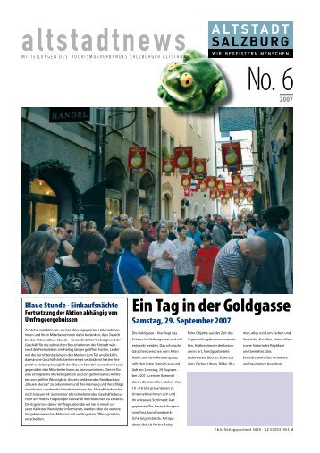 Shopping- und Luxus-Guide Achtung: ab ... - Altstadt Salzburg