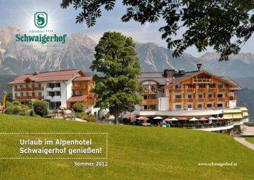 Sommerpreisliste als PDF downloaden - Schwaigerhof