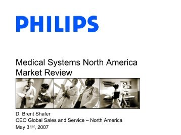 Medical Systems North America Market Review - Philips