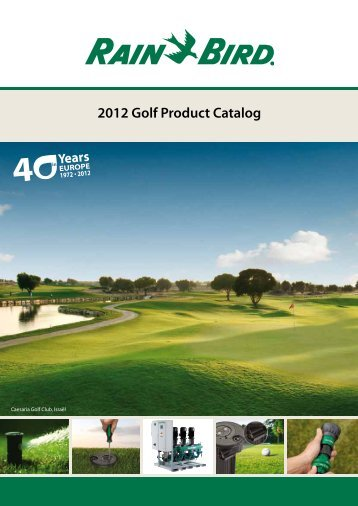 2012 Golf Product Catalog