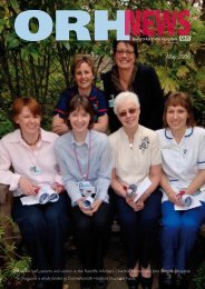 BUSY BEES - Oxford Radcliffe Hospitals NHS Trust