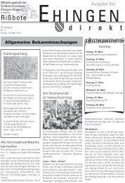 Max MusterMann - Stadt Ehingen