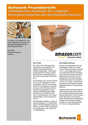 Amazon.de [pdf] - Schwank GmbH