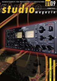 Test im Studio Magazin 1/2009 - Synthax