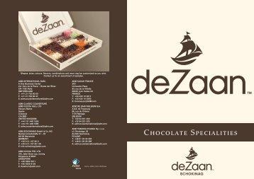 Chocolate Specialities - ADM