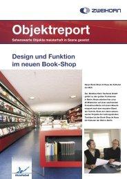 Design und Funktion im neuen Book-Shop Objektreport ... - Zweihorn