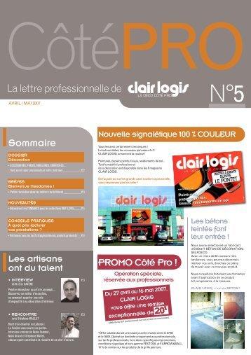 Les collections MATS LEVIS - Clair Logis