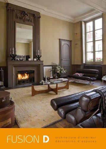 FUSION D décoration d'espaces architecture d'intérieur