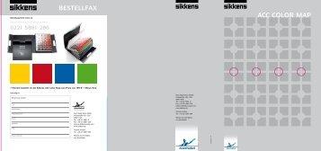 Die Sikkens ACC Color map – Farbkompetenz zum präsentieren