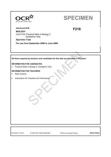 72127-unit-f216-practical-skills-in-biology-2-qualitative-task-specimen