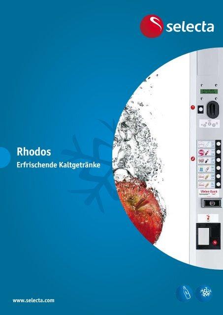 Erfrischung auf Knopfdruck für unsere Konsumenten - Selecta