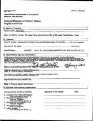 National Register of Historic Places Registration Form - Missouri ...