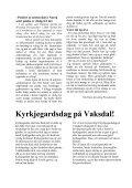 påske - Vaksdal kyrkjelege fellesråd - Den norske kyrkja - Page 5