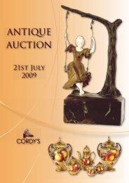 ANTIQUE AUCTION - Cordys