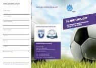 26. UPC TIROL CUP - SK Wilten Innsbruck
